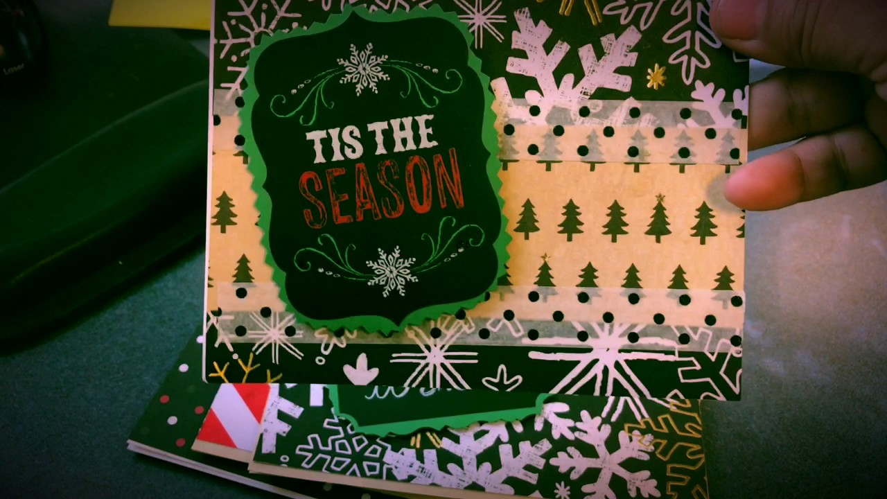 holiday cards for the troops - YouTube