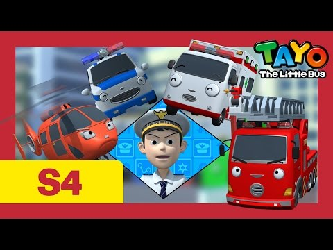 ⭐Tayo S4 #04⭐ The New Emergency Center l Tayo the Little Bus l Season 4 Episode 4