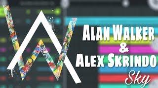 Alan Walker & Alex Skrindo - Sky (Dj Andi Remake)