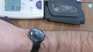 Годинник і тонометр - вимірюємо тиск