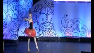 Калягина День матери Летающая балерина