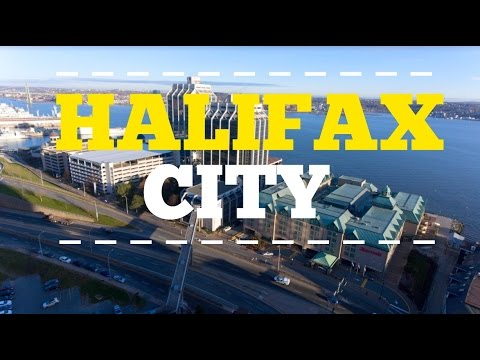 A Flight Over Halifax - Aerial Drone Footage