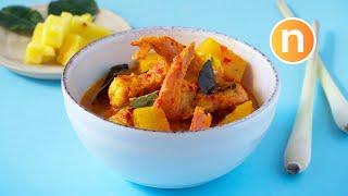 Udang Masak Lemak Nenas | Curry Prawns With Pineapple