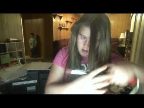 GIRL BURNS HAIR epic fail - YouTube