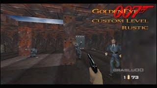 GoldenEye 007 N64 - Rustic - 00 Agent (Custom level)