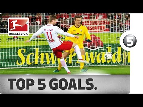 Timo Werner - Top 5 Goals - 2016/17 Season