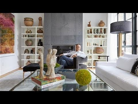 Take a Tour of an Artist's Stunning New York Townhouse