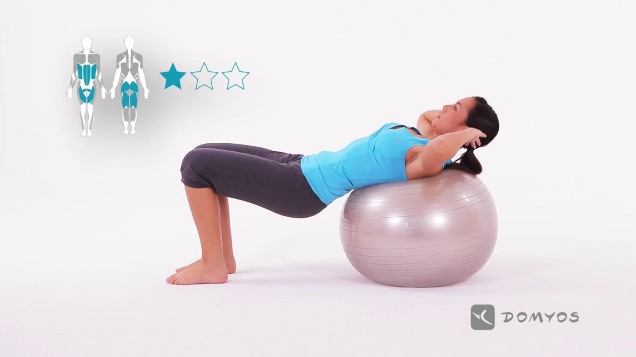 Evde Pilates Topu Hareketleri - Resimli