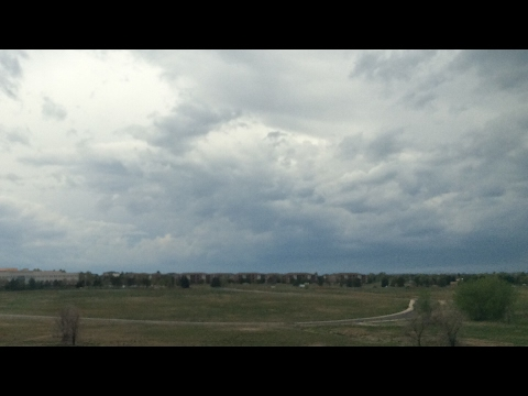 Denver Colorado Weather Cam | SEVERE THUNDERSTORM WARNING (HD) - May 8, 2017