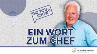 Prof. Dr.  Günter Dhom persönlich