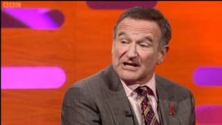 Robin Williams discussing Michael Jackson on Propofol (The Graham Norton Show) thumbnail
