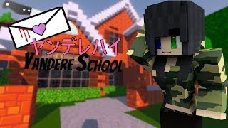 Yandere School: ep 1  (Minecraft Roleplay)