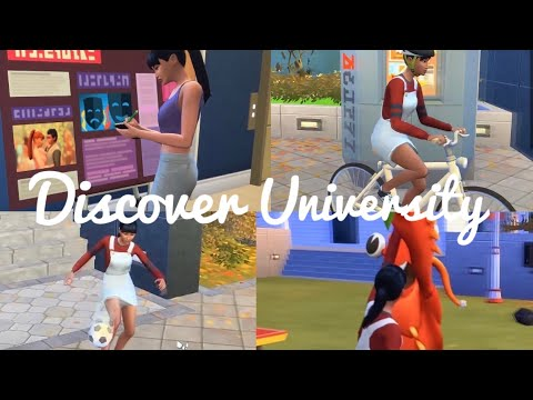 SCHOOL SPIRIT! 🥳🦞| The Sims 4 Discover University |