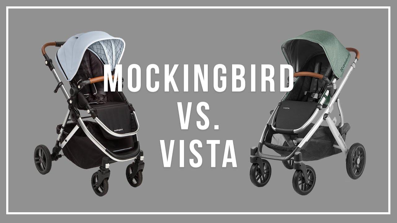 Mockingbird vs. Uppababy Vista 2019 - Stroller Comparison ...