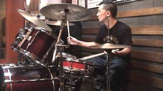 Donald Fagen - Walk Between Raindrops - drum cover by KATSUO