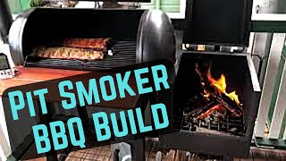 Offset Pit Smoker BBQ Build