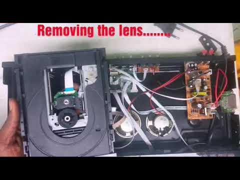 HOW TO FIX (NO DISC) DVD LENS