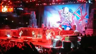 Iron Maiden The Trooper Chicago United Center