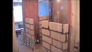 пеноблоки кладка видео