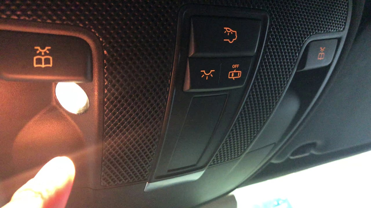 Interior Lights Control Mercedes Benz Cla