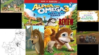 ALPHA & OMEGA 3: THE GREAT WOLF GAMES Review by Brandon The Bambi Man