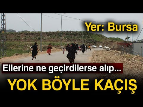 Bursa'daki Dilenci Operasyonunda Hareketli Dakikalar