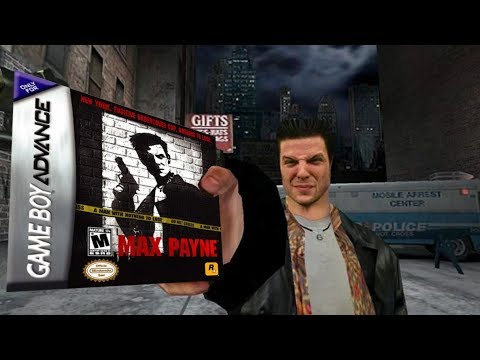 Max Payne S Weird Gba Port Minimme Youtube