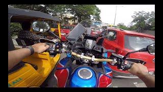 Crazy LOUD Kawasaki | Rs. 1,50,000 ka Exhaust