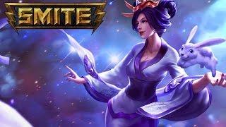 Smite - Skin Spotlights : Sun's Bride Chang'e *Skin/Jokes/Taunts*