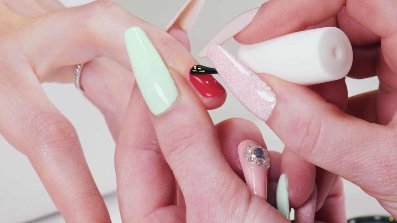 Vero Krew Natural Diamonds And Gems Nail Art Application Video