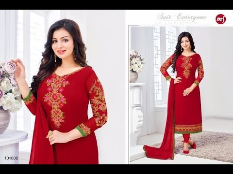 5bd012bc9679 LATEST INDIAN DRESSES COLLECTION 2017 || MAHAVEER FASHION ||MF Sabeeha