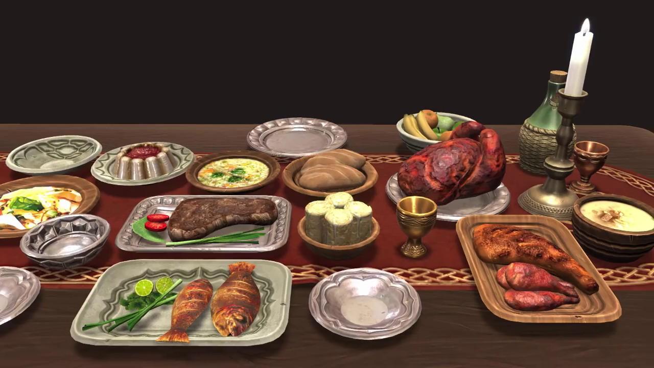 medieval food drinks asset pack mega