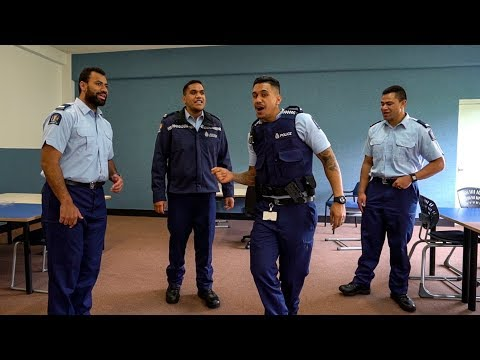 New Zealand Police Barbershop Quartet sing Pokarekare Ana Mp3