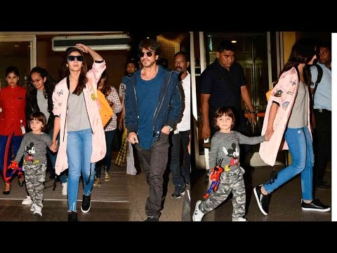 Shah Rukh Khan's son Abram spotted walking hand in hand with Alia Bhatt