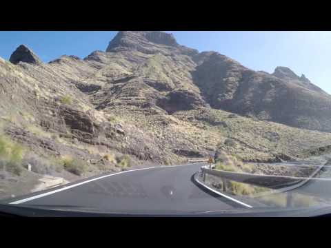 Driving the north coast of Gran Canaria
