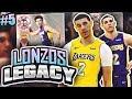 LONZOS LEGACY 2 0  5   CRAZY ANKLE BREAKER   NBA 2K18 MYTEAM
