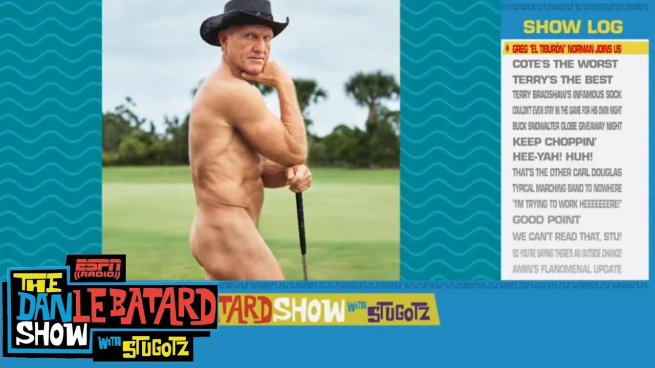 """Greg Norman: On posing nude for ESPN's """"Body Issue"""" at 63"""