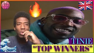 Download lagu TINIE -TOP WINNERS ft NOT3s (Official Video) [Reaction]🎙