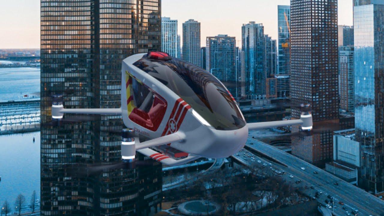 The Ambular 2.0 | Autonomous Flying Ambulance | Concept Vehicle 67