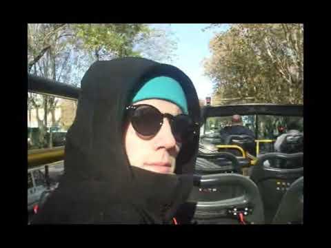 Turistbussen i Madrid