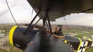 First flight of my Airdrome Aeroplanes Fokker Dr-1 Triplane 3/4 Kit.