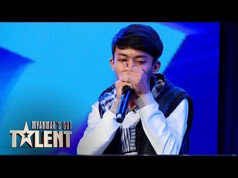 Htoo Htet Aung: Auditions | Myanmar's Got Talent 2018
