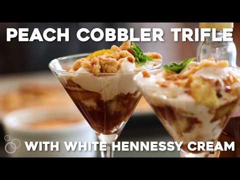 Peach Cobbler Trifles