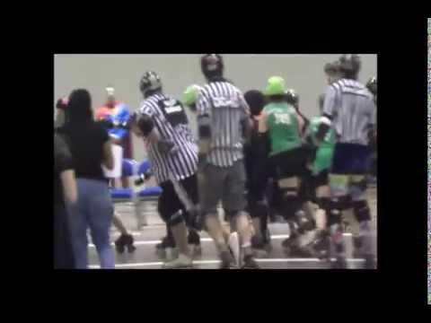 Flint City Derby Girls Vs Lansing Mitten Mavens