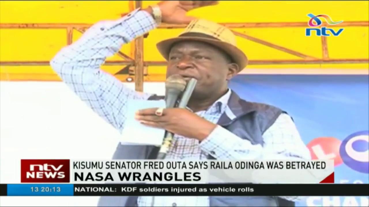 Kisumu senator Fred Outa scoffs at Kalonzo, Mudavadi and Wetang'ula for betraying Raila Odinga