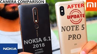 Redmi Note 5 Pro vs Nokia 6.1 2018 - Camera Comparison # Detailed#Video 4k  # After update