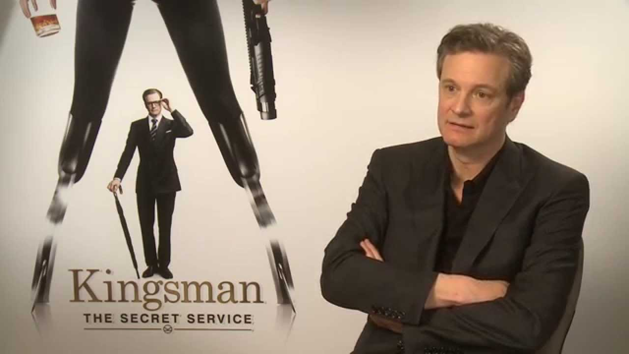 """Kingsman The Secret Service Interview: Colin Firth: """" I Haven't Met Anyone Upset By The Violence"""