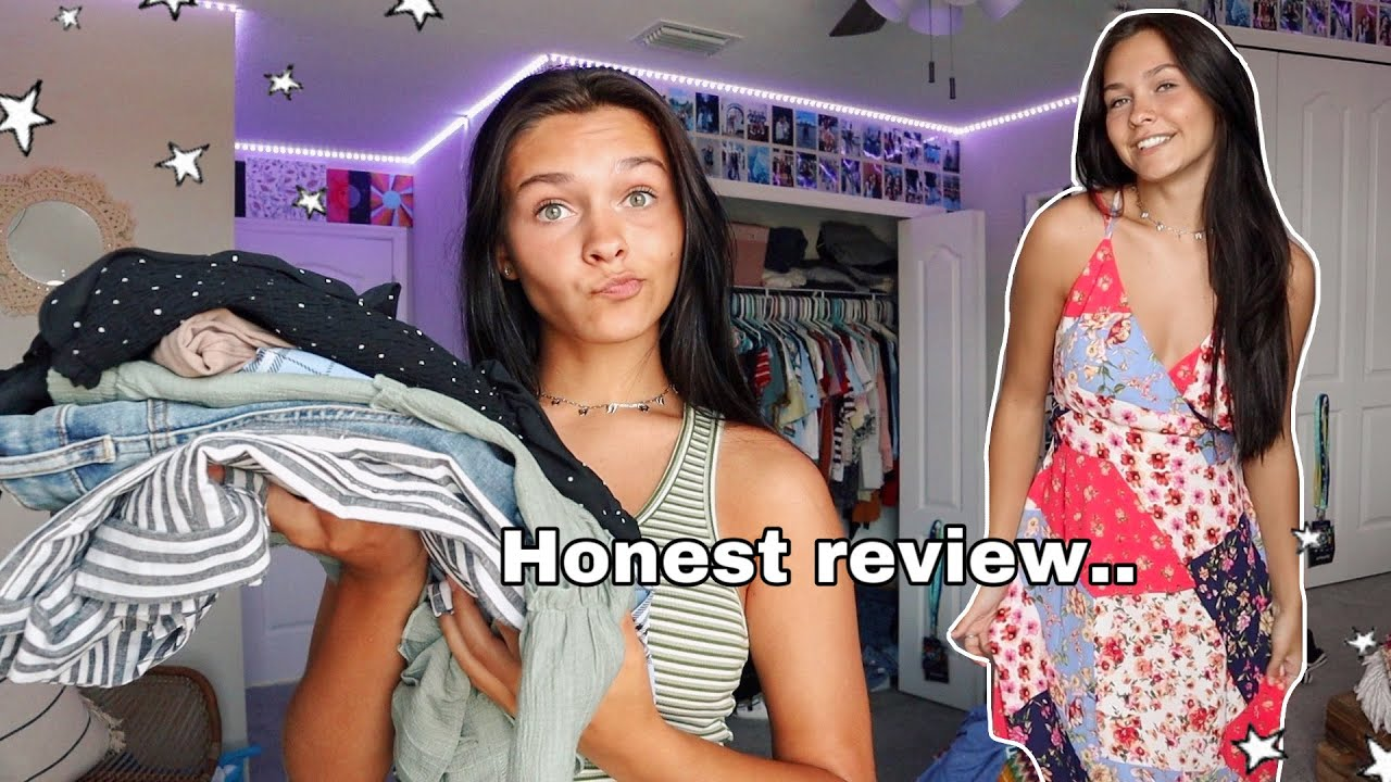 Honest review of my mom's clothing store *try on haul*