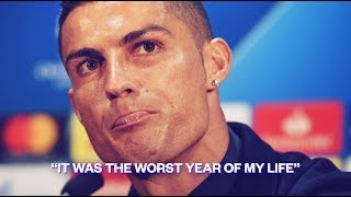 "Cristiano Ronaldo: ""It was the worst year of my life"" - Oh My Goal"