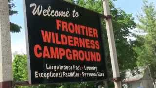 Door County Camping and RV - Frontier Wilderness Campground